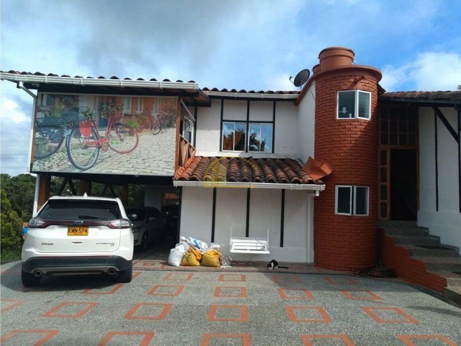 casa en venta cond campestre via pereira
