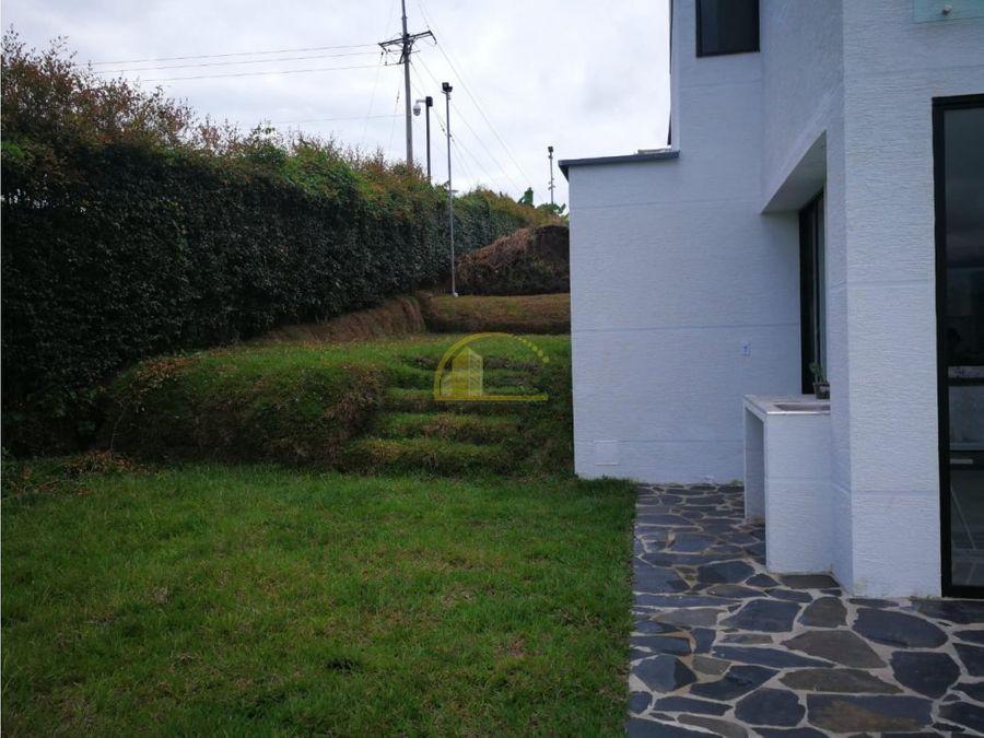 casa en venta via al caimo armenia