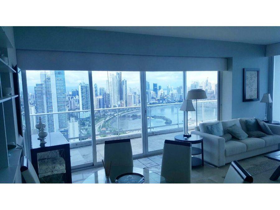 apartamento amoblado ave balboa 150 mts 16666
