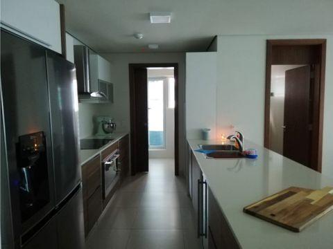 apartamento en costa del este para venta 2 recamaras 125m2