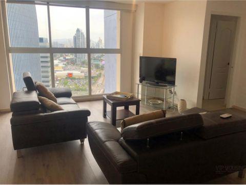 apartamento amoblado en punta pacifica alquiler o venta 2 recamaras