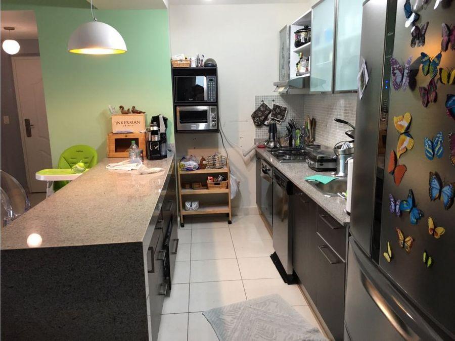 apartamento en el cangrejo 126 mts2 16643