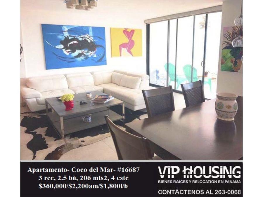 apartamento coco del mar 206 mts2 16687