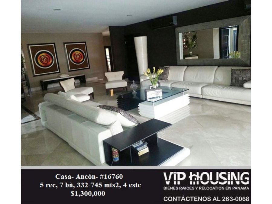 casa ancon 332 745mts 16760