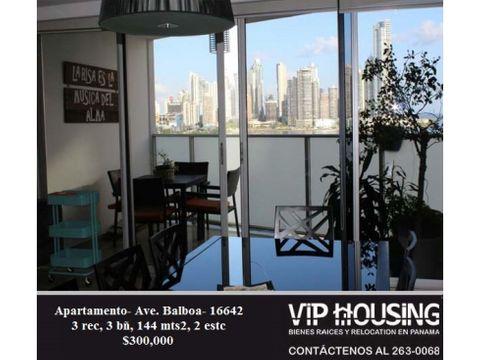 apartamento ave balboa 144 mts2 16642