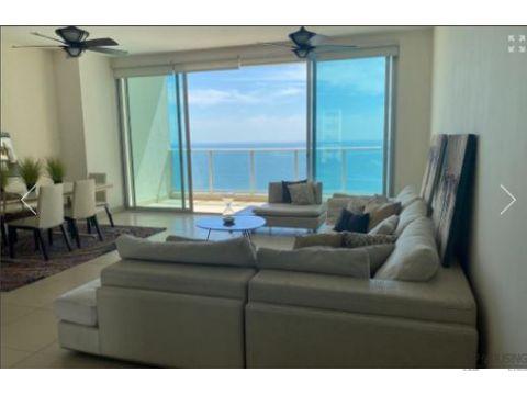 apartamento en punta pacifica para venta 212m2 2 recamaras 349k