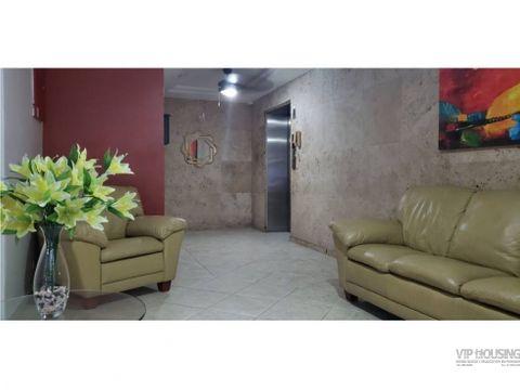 apartamento en el cangrejo para venta 84m2 3 recamaras 1495k