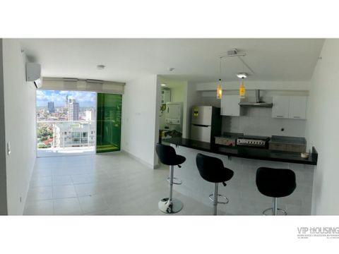 apartamento amoblado en via espana 2 recamaras 81m2