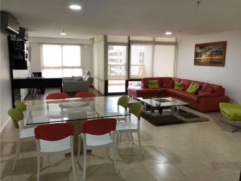 apartamento costa del este venta o alquiler 202m2 3 recamaras