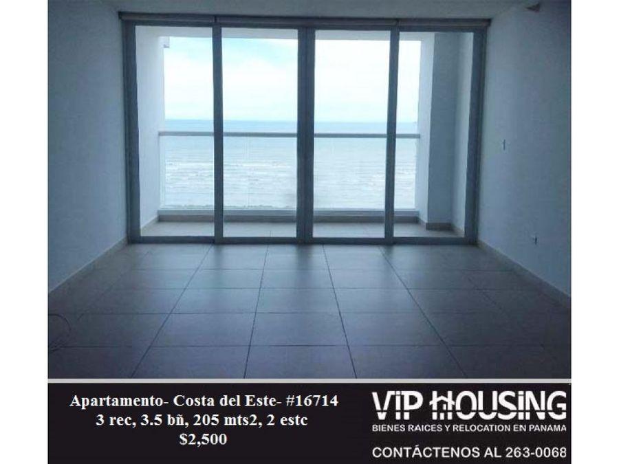 apartamento en costa del este 205 mts2 16714