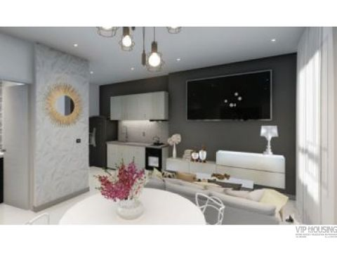 apartamento en calle 50 para venta 47m2 1 recamara 141k