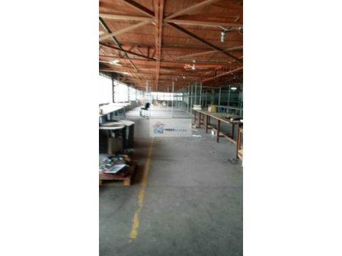 se alquila planta industrial 2450m2 lebrun