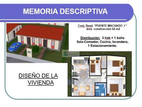 se venden 32 casas listas 62m2 3h1b1p tacarigua
