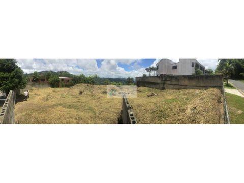 se vende terreno residencial 1550m2 monte elena