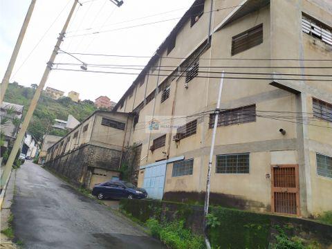 se vende edificio industrial 2384m2 san antonio de los altos