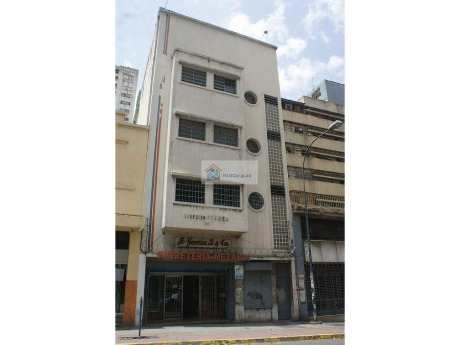 se vende edificio 1377m2 santa teresa