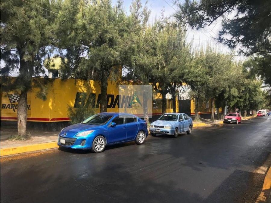 terreno taller a la venta xochimilco