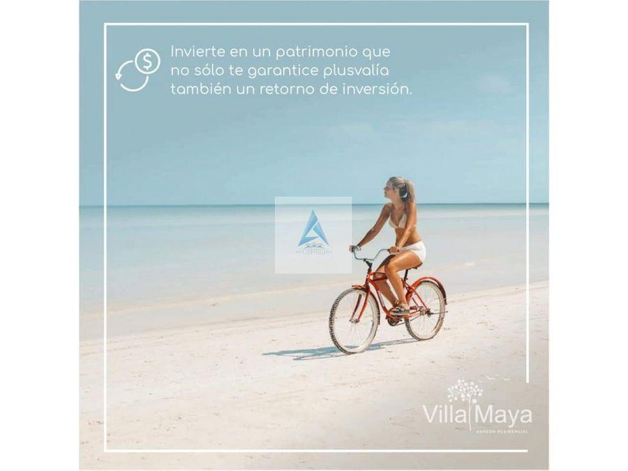 departamentos en villa maya nuevos