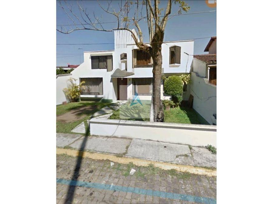 casa en venta en las animas xalapa
