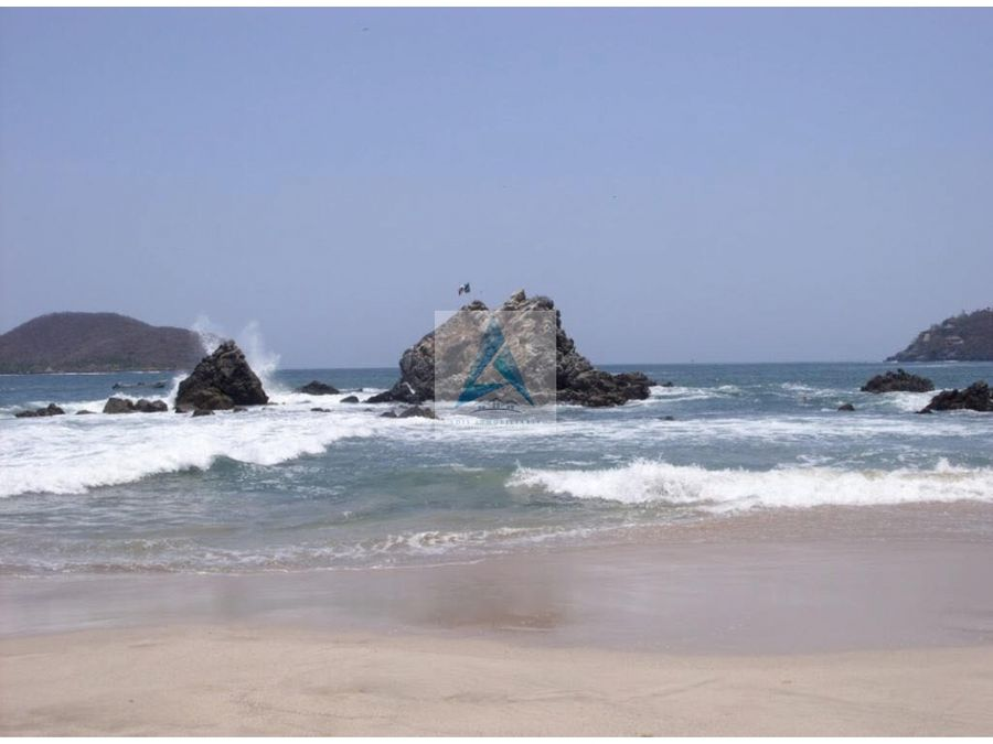terrenos de playa la ropa zihuatanejo