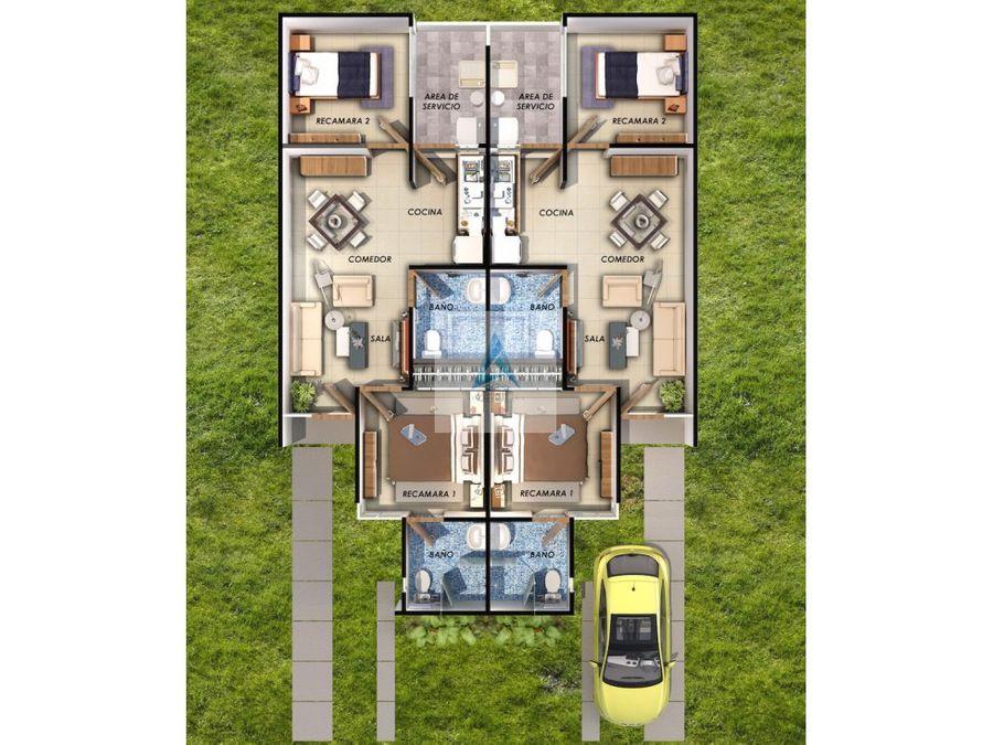 casa de 72 m2 en estado de mexico huehuetoca