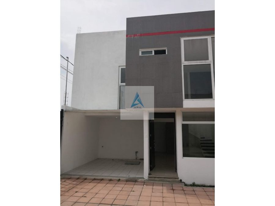 casa en zacatelco en privada