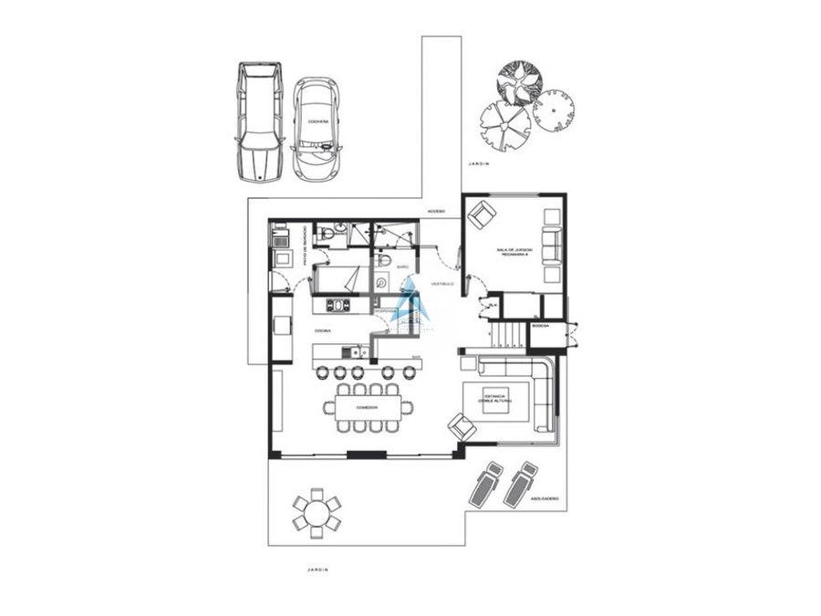 casa pre venta en pcountry club