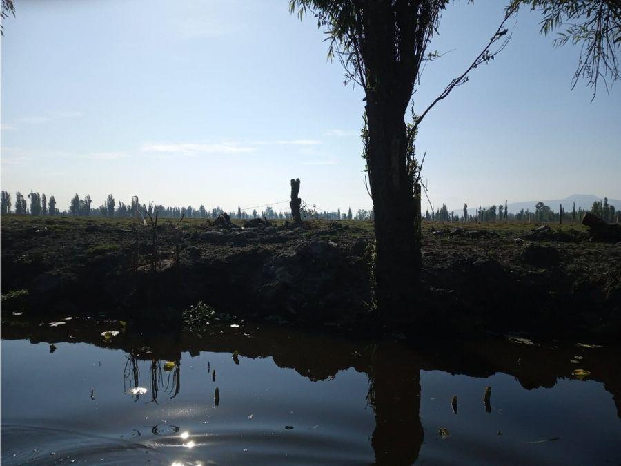 terreno en cuemanco para ecoturismo