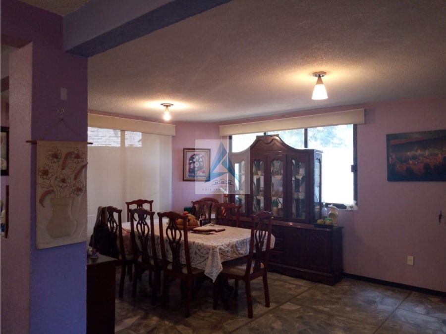 casa en venta en tlahuac 496 m2