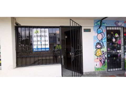 arriendo local comercial barrio san vicente