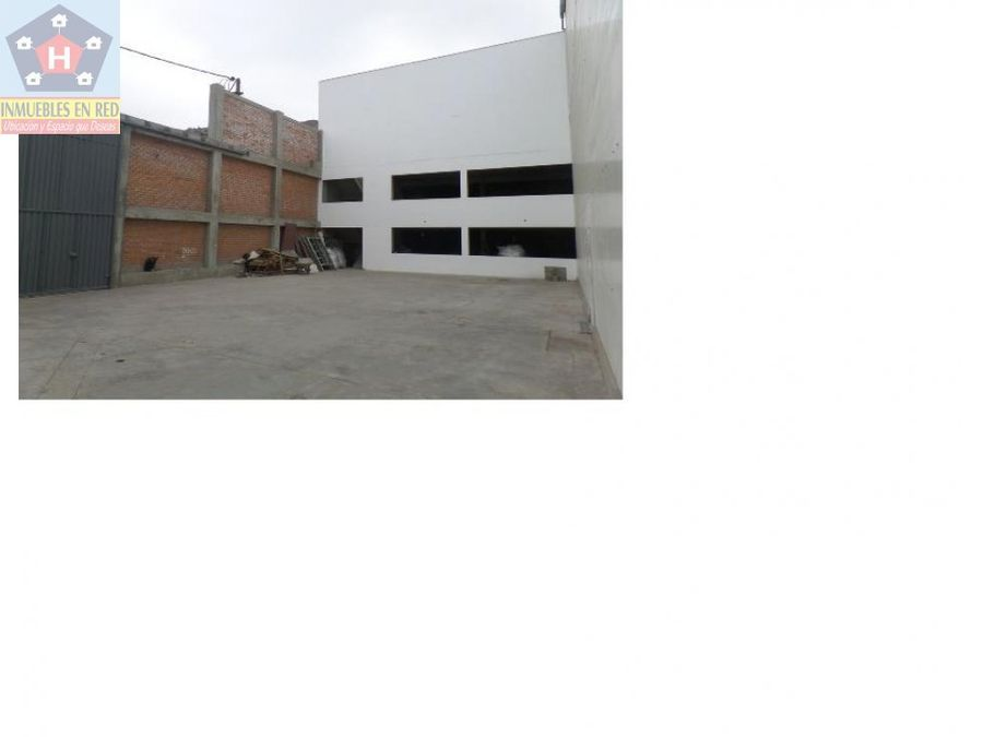local industrial para vender en ate