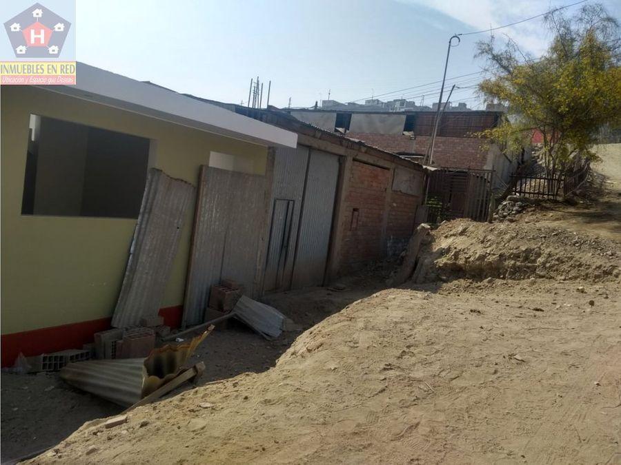venta casa como terreno en portada 3 manchay