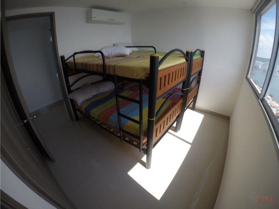 apartamento en venta bocagrande morros city