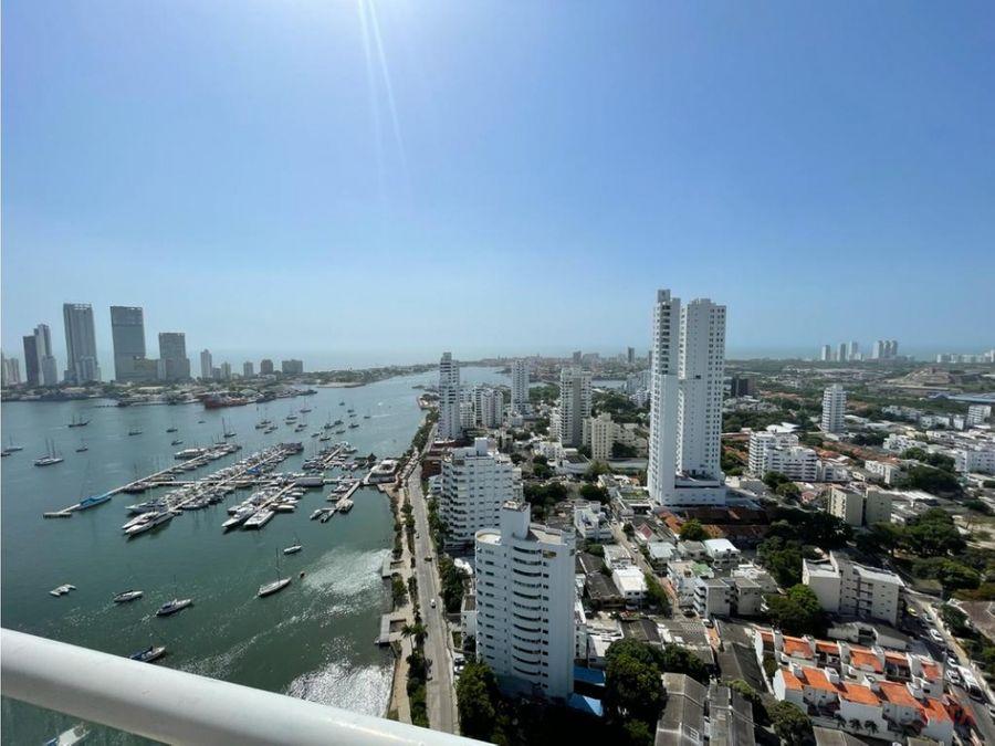 se vende penthouse frente a la bahia de manga regatta