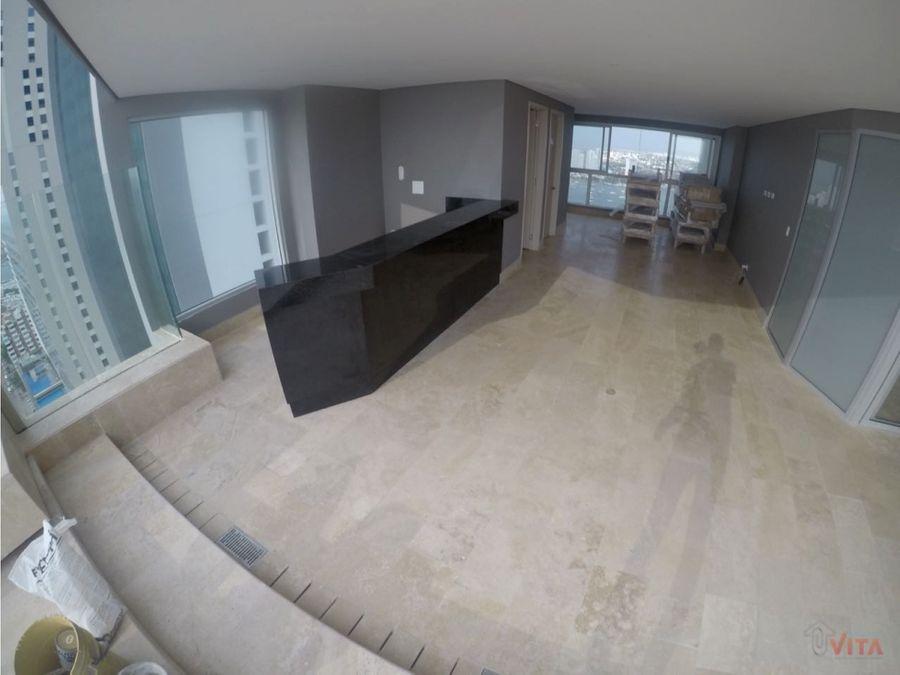 se vende apartamento en bocagrande murano elite