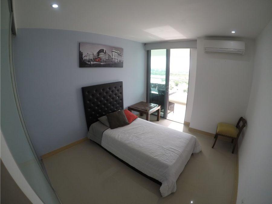 apartamento en beach club zona norte