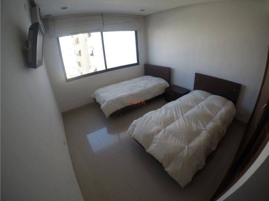 apartamento en bocagrande edificio marlin
