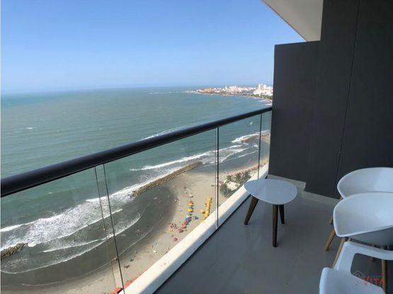 apartamento en arriendo vista al mar morros city