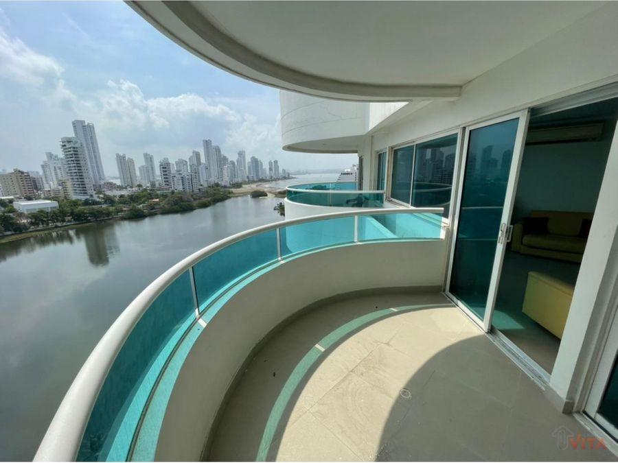 se vende apartamento en el laguito torres del lago