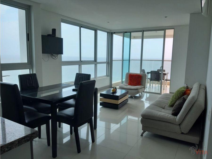 vendemos apartamento bocagrande palmeto beach