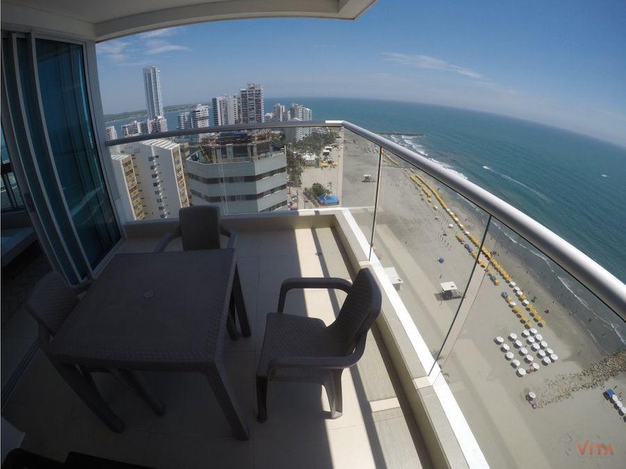 se vende apartamento en bocagrande palmetto beach