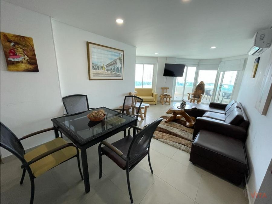 se vende apartamento en laguito torres del lago