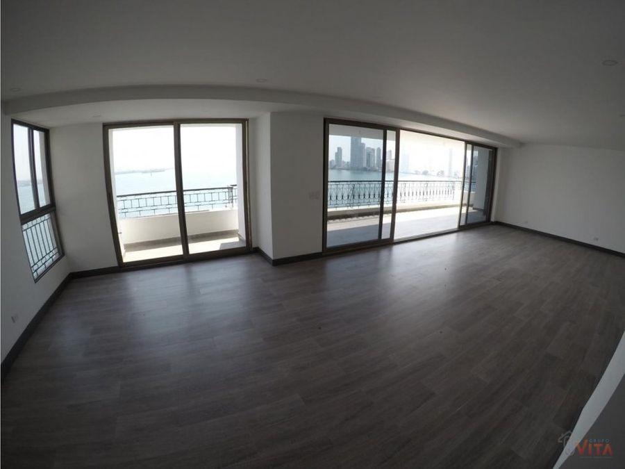 vendemos apartamento en bocagrande bahia de sm
