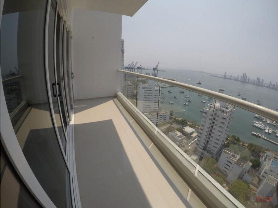 en venta apartamento en manga luna del mar