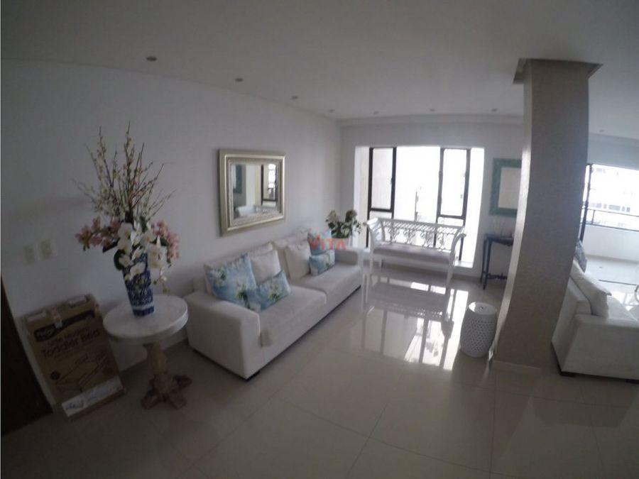 apartamento en bocagrande remodelado