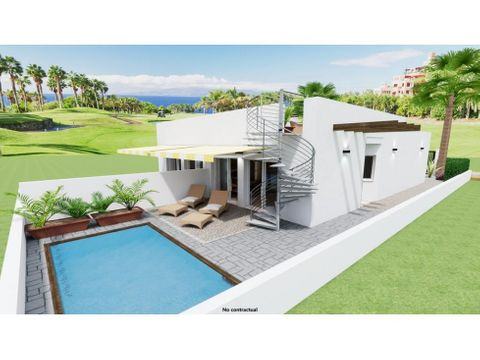 detached villas playas mar menor