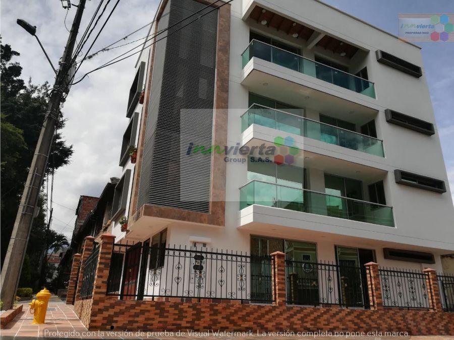 se vende apartamento 4 piso belen