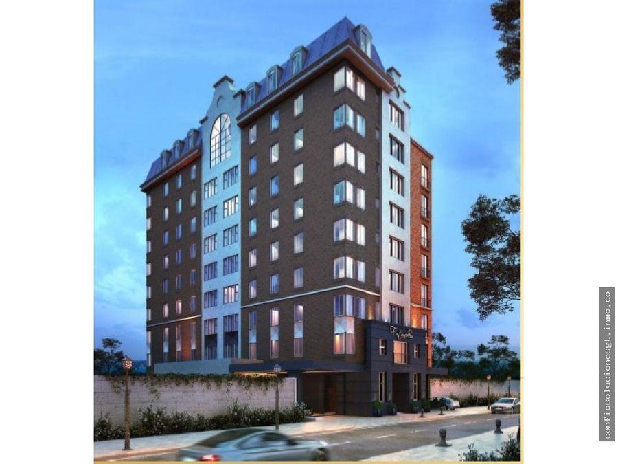 apartamento en venta en zona 15