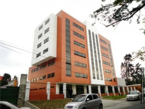 oficina en renta en zona 13 edificio condesa