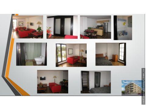 apartamento amueblado en renta en zona 10
